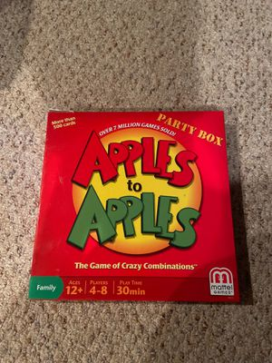 Apples to Apples Board Game for Sale in Uxbridge, MA