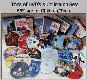 Several DVD'S & Some Collections for Sale in Saginaw, TX