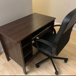 Ikea Desk & Chair | Read Description for Sale in Bellevue, WA