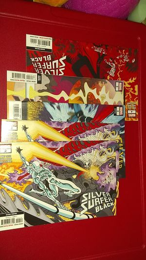 Silver Surfer Black Comics for Sale in Tacoma, WA