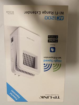 TP-LINK AC1200 WiFi Range Extender for Sale in Gaithersburg, MD