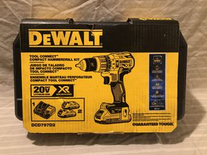 Brand new XR 20V brushless Tool Connect Hammer drill tool set. Retails for $229 was $249 for Sale in Vacaville, CA