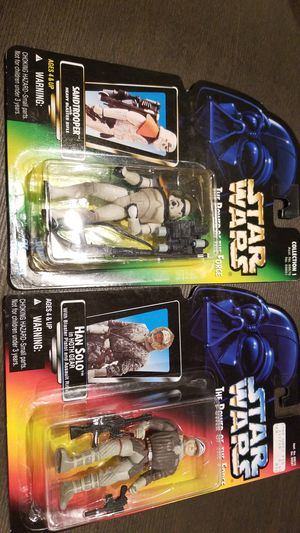 Hand Solo and Sandtrooper for Sale in Elma, WA