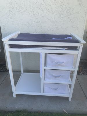 Baby changing table for Sale in Carlsbad, CA