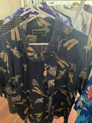 Field and Stream 2 XL. Blue fishing shirt for Sale in Pompano Beach, FL
