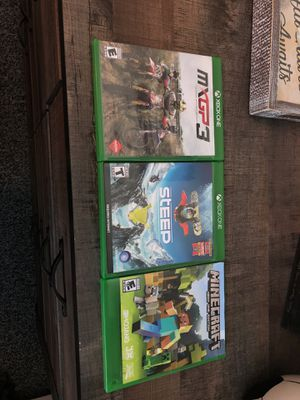 Xbox one games for Sale in Milford, MA