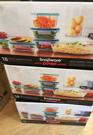Brand New $24.99 Snapware Pyrex Glass Retail $45.00 for Sale in Pasadena, CA