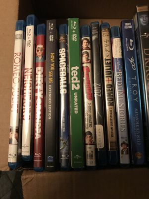 DVDs blue ray for Sale in Evansville, IN