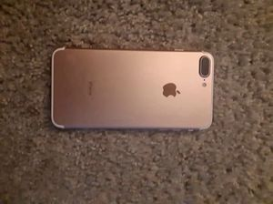 iPhone rose gold 7+ . Carrier : phone is unlocked for Sale in US