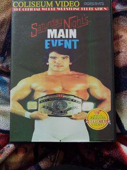 Saturday night's Main Event 2-5-1987 Dvd for Sale in Chicago,  IL