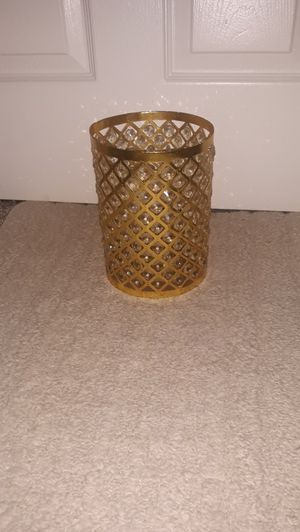 Gorgeous bling candle holder! Shines up your walls when lit!! for Sale in Chandler, AZ