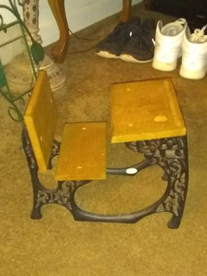 Antique cast iron desk. Possibly American Girl for Sale in Abington, MA