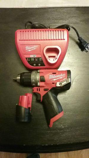 Milwaukee M12 Fuel Hammer Drill for Sale in Kalamazoo, MI