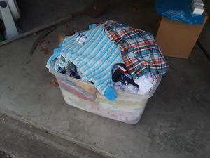 Baby clothes blankets and crib bumpers $15 for all for Sale in Dallas, TX