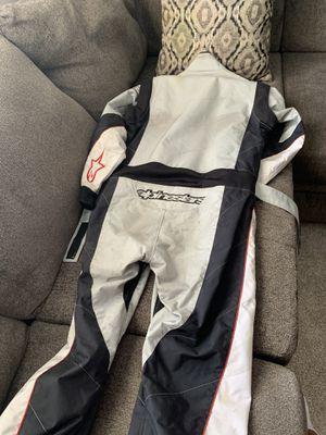 Alpine star Karting suit, first gear motorcycle jacket for Sale in Phoenix, AZ