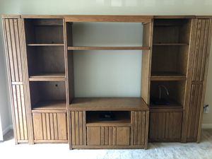 Rooms To Go Entertainment Center/Shelves/and Storage for Sale in Atlanta, GA