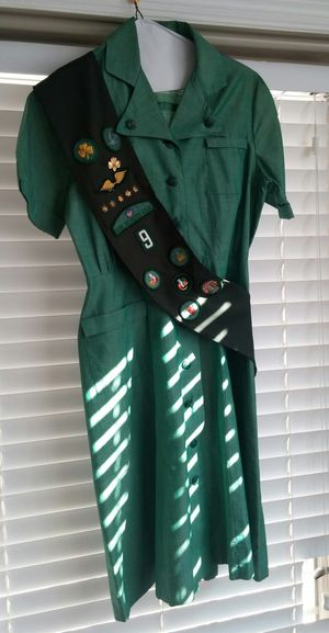 Vintage Official Girl Scout Uniform W/Accessories/Halloween Costume? for Sale in Germantown, MD