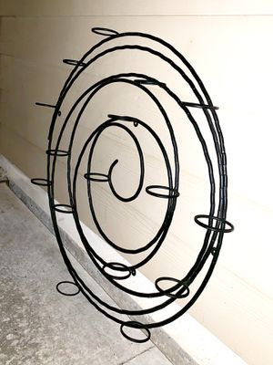 Spiral metal wall candle holder for Sale in Austin, TX