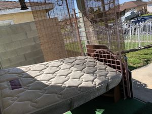 Twin Bed frame & Matress for Sale in Carson, CA