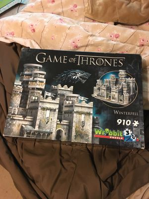 Game of Thrones 3D puzzle for Sale in Hampton, VA