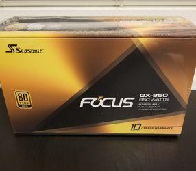Seasonic FOCUS Plus 850 Gold for Sale in Irvine,  CA