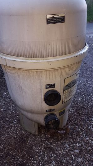 Pentair FNS Plus 36 Sq Ft Pool Filter Complete FNSP36 for Sale in Coraopolis, PA