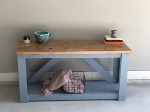 Farmhouse Console Table, TV Stand for Sale in Austin, TX