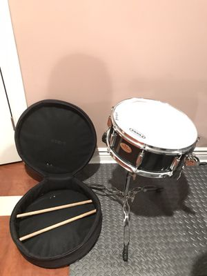 Drum with stand and sticks for Sale in Chicago, IL