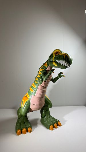 "Fisher Price Mega T-Rex 16"" Tall Moves and Roars for Sale in Clayton, NC"