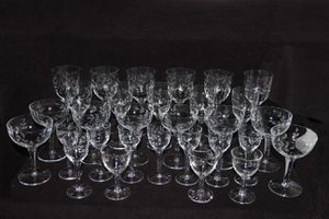 30 piece crystal set - early 1900's for Sale in Waterbury, CT