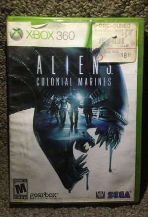 """""""ALIENS: Colonial Marines"""" for Microsoft Xbox 360 in Good Condition! for Sale in Phoenix, AZ"""