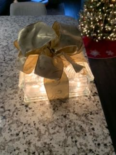 Christmas Lighted Glass Blocks for Sale in Downers Grove, IL