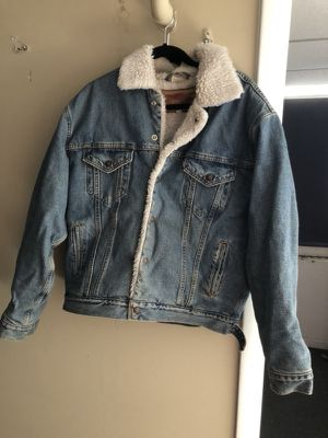Fleece Lined Denim Jacket - M for Sale in Nashville, TN