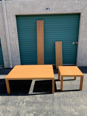 Coffee table, end table and shelves for Sale in Buena Park, CA