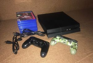 PS4 for SALE! + 6 Used Games for Sale in Salt Lake City, UT