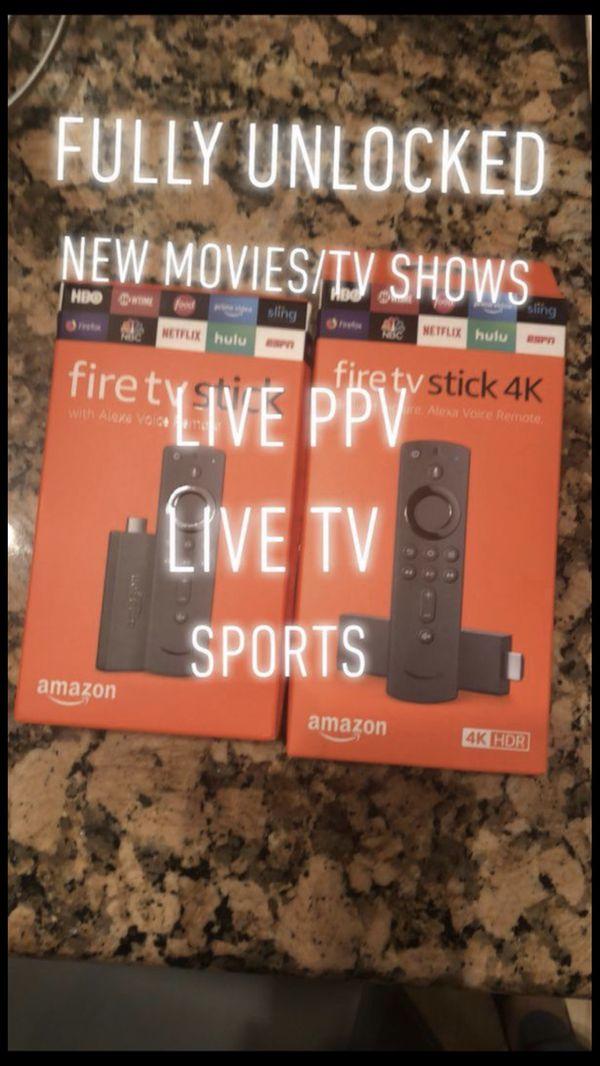 New Fire TV Stick