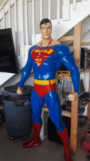 Lifesize superman statue for Sale in San Antonio, TX