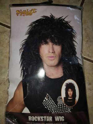 Rockstar Wig Rock Star Halloween Costume - NEW IN BAG for Sale in Grand Prairie, TX