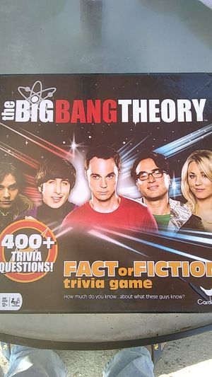 Big bang theory fact or fiction board game for Sale in Parlier, CA