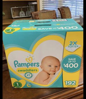 Pampers Swaddlers Size 1 for Sale in Gardena, CA