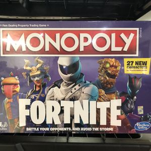 Monopoly Fortnite for Sale in Jessup, MD