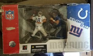 NFL Manning Brother's Collector Action Figures for Sale in Lakewood, CA