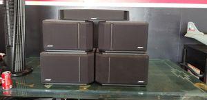 Bose speaker 301 & 201 1V and center speaker for Sale in Bakersfield, CA