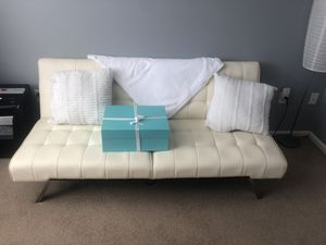 Faux leather futon for Sale in Stroudsburg, PA