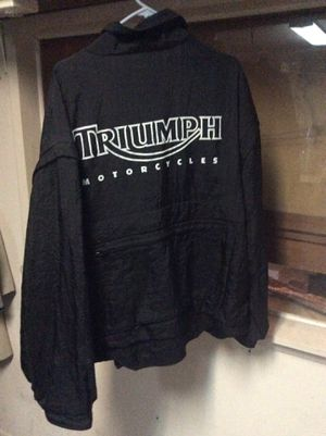 Triumph motorcycle jacket XXL for Sale in Fullerton, CA