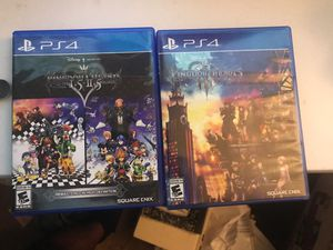 Kingdom Hearts 1,2 & 3 for Sale in Philadelphia, PA