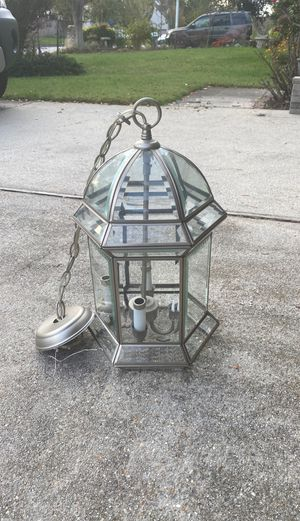Beveled Glass Chandelier for Sale in Virginia Beach, VA