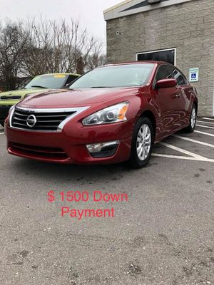 2014 Nissan Altima $ 1500 Down Payment for Sale in Nashville, TN