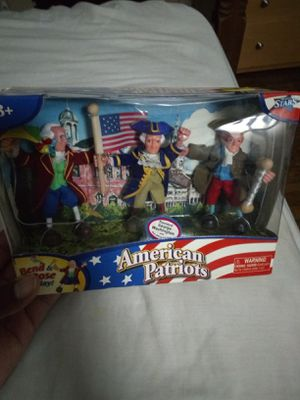 VINTAGE ODYSSEY TOYS AMERICAN PATRIOTS POSEBLE FIGURES for Sale in Garfield Heights, OH