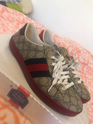 Ace GG Supreme Gucci Shoes $300 ObO for Sale in Rancho Cucamonga, CA